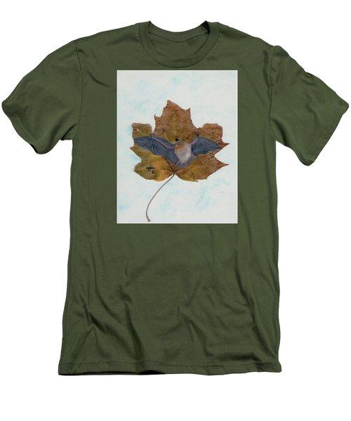 Little Brown Bat Men's T-Shirt (Slim Fit) by Ralph Root