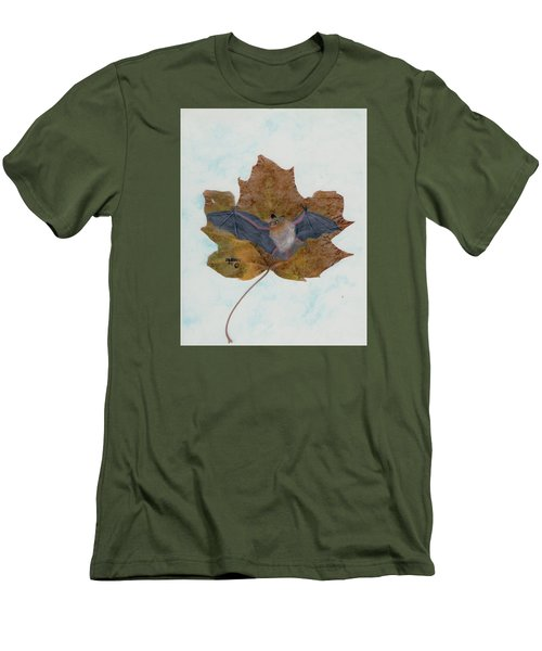 Little Brown Bat Men's T-Shirt (Athletic Fit)