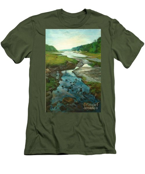 Little River Gloucester Men's T-Shirt (Athletic Fit)
