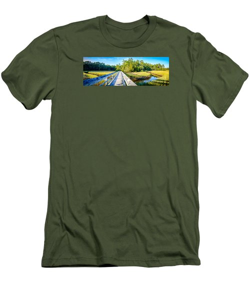 Little River Marsh Men's T-Shirt (Athletic Fit)