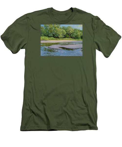 Little Sioux Sandbar Men's T-Shirt (Athletic Fit)