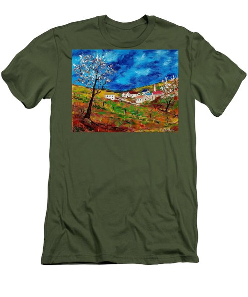 Little Village Men's T-Shirt (Athletic Fit)