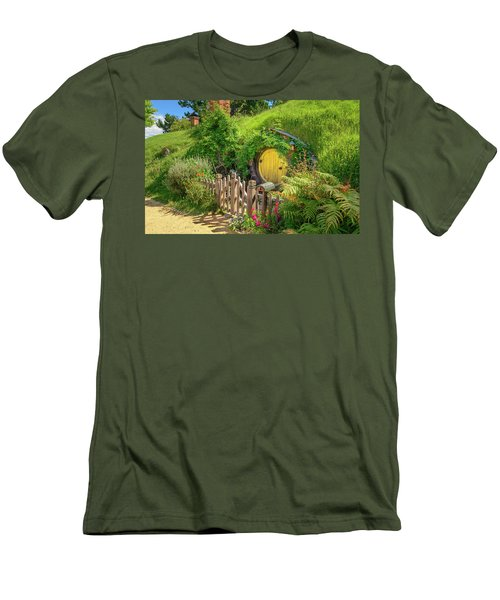 Little Yellow Door Men's T-Shirt (Athletic Fit)