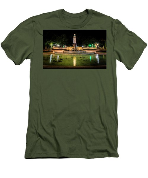 Men's T-Shirt (Athletic Fit) featuring the photograph Littlefield Gateway by David Morefield