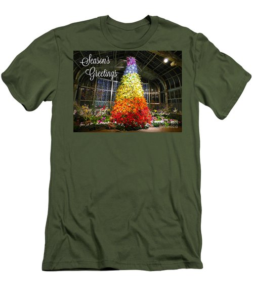 Living Color Season's Greetings Men's T-Shirt (Athletic Fit)