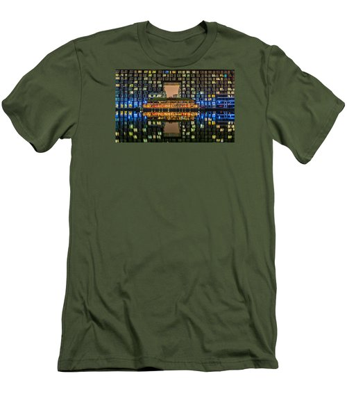 Living In A Box Men's T-Shirt (Athletic Fit)