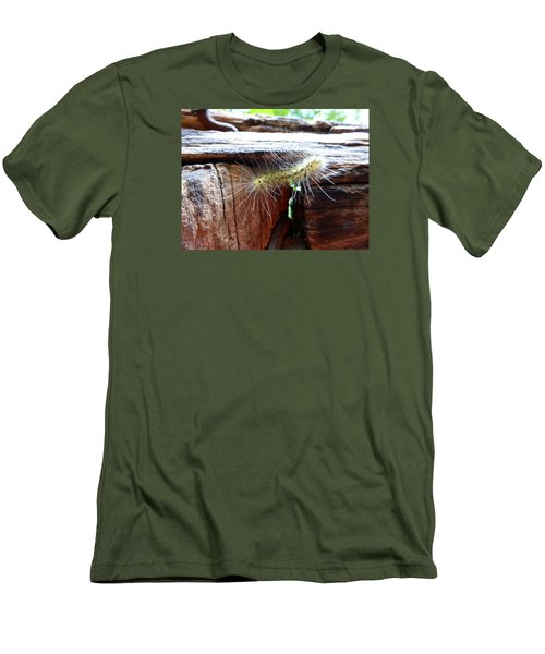 Men's T-Shirt (Slim Fit) featuring the photograph Living In The Moment by Joel Deutsch