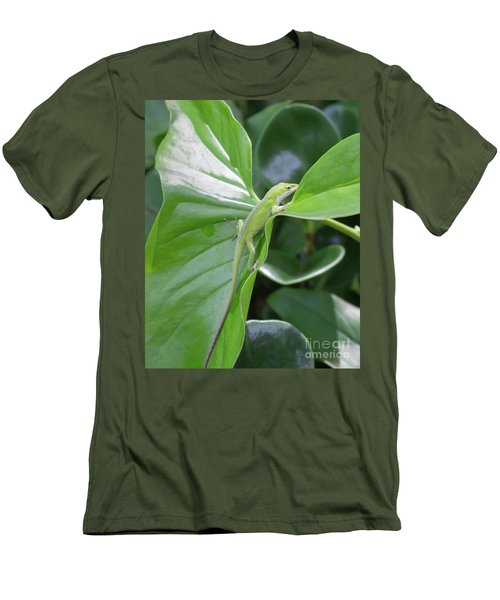 Lizard Waimea Trail Men's T-Shirt (Athletic Fit)