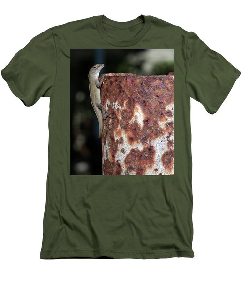 Men's T-Shirt (Slim Fit) featuring the photograph Lizzy by Richard Rizzo