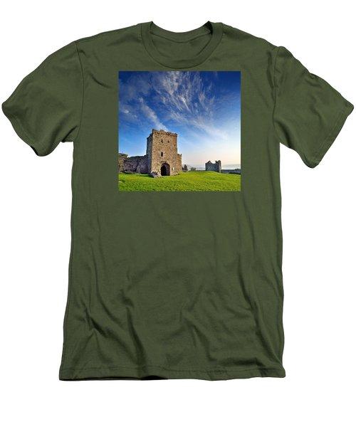 Llansteffan Castle 1 Men's T-Shirt (Athletic Fit)