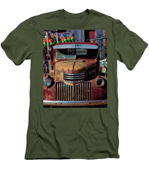 Lobster Pots And Chevys Men's T-Shirt (Athletic Fit)