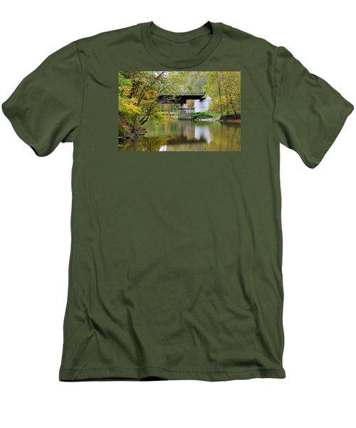 Lock 29 Men's T-Shirt (Slim Fit) by Kristin Elmquist