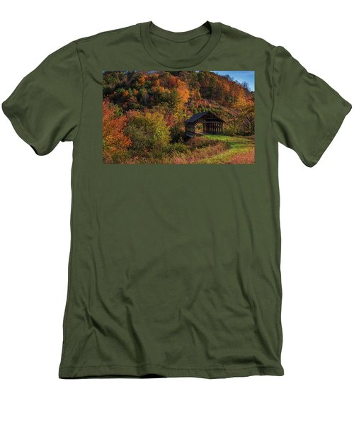 Lonely Bridge Men's T-Shirt (Athletic Fit)
