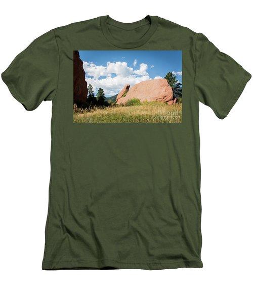 Long Ears Men's T-Shirt (Slim Fit) by Deborah Klubertanz