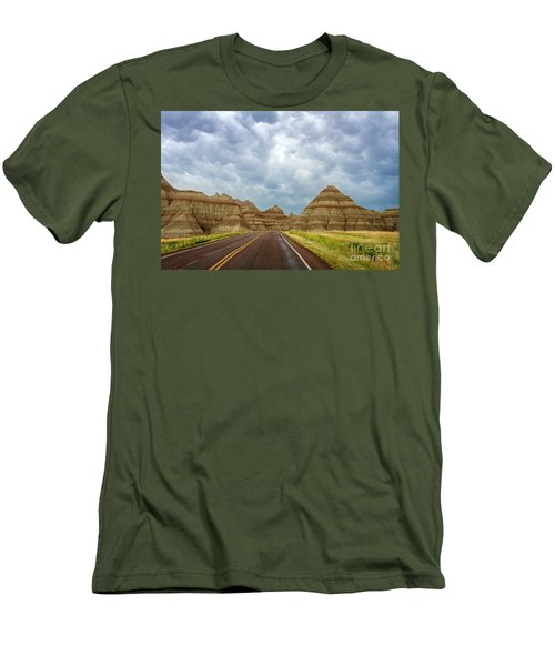 Long Lonesome Highway Men's T-Shirt (Athletic Fit)