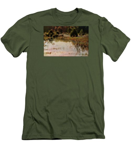 Long Pond Misty Morning Men's T-Shirt (Athletic Fit)