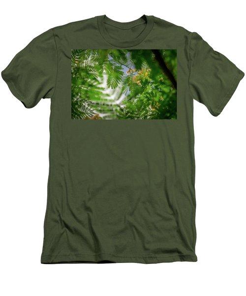 Look To The Sky Men's T-Shirt (Slim Fit) by Stefanie Silva