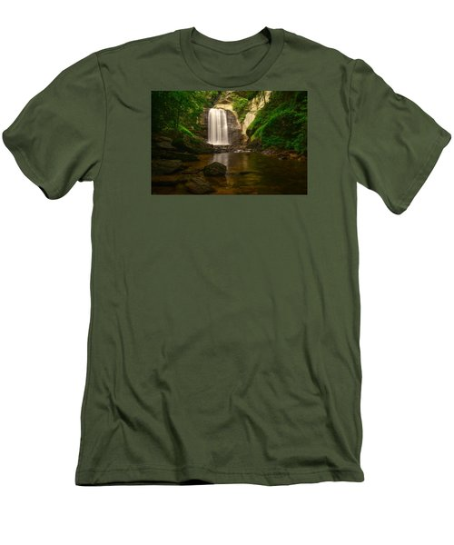 Looking Glass Falls Men's T-Shirt (Athletic Fit)