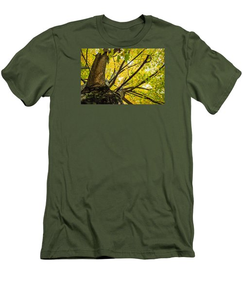 Men's T-Shirt (Slim Fit) featuring the photograph Looking Up - 9676 by G L Sarti