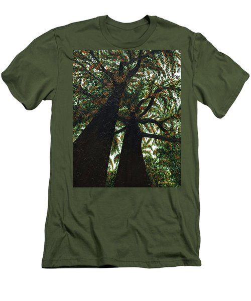 Looking Up Men's T-Shirt (Slim Fit) by Donna Manaraze