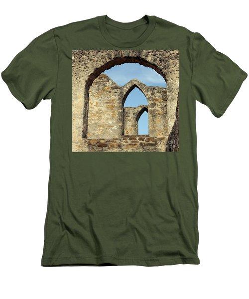 Los Arcos De La Mision San Jose Men's T-Shirt (Slim Fit) by Joe Jake Pratt