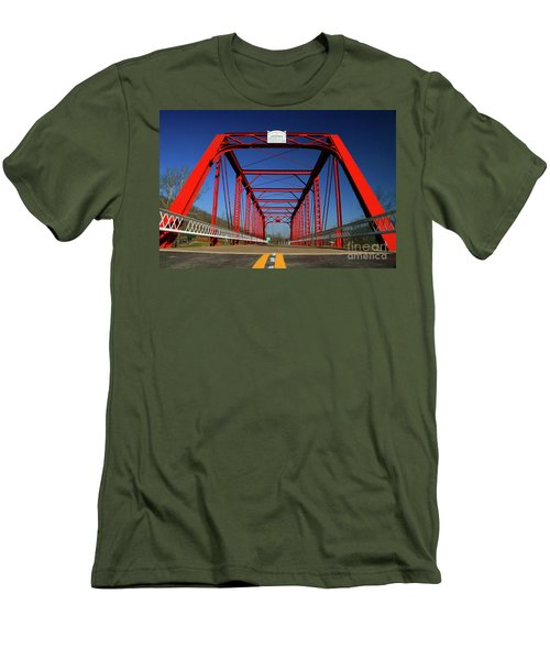 Lost Bridge Men's T-Shirt (Athletic Fit)