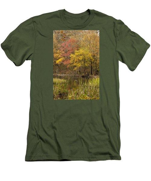 Lost Creek Autumn Men's T-Shirt (Athletic Fit)