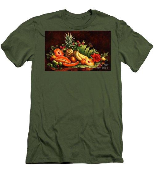 Lots Of Fruit Men's T-Shirt (Slim Fit)