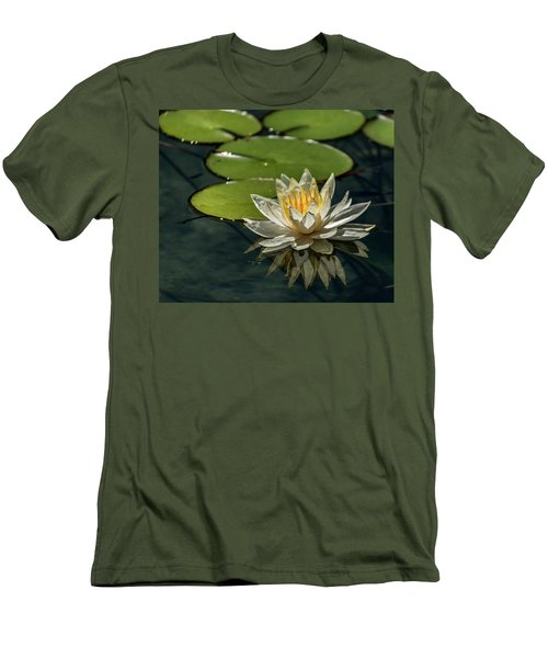 Lotus Men's T-Shirt (Slim Fit) by Martina Thompson