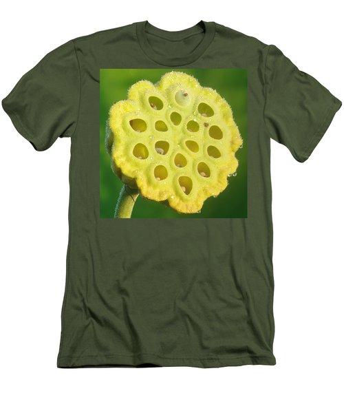 Lotus Pod Men's T-Shirt (Athletic Fit)