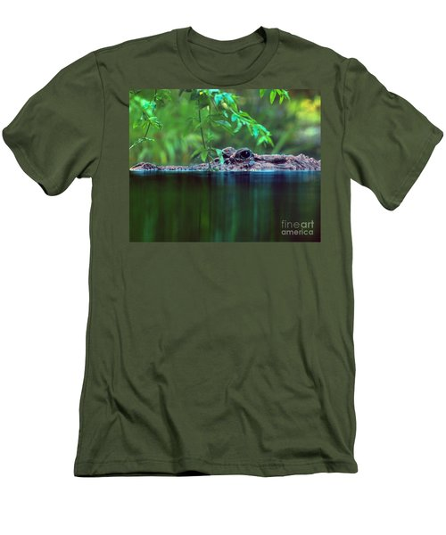 Louisiana Swimming Instructor  Men's T-Shirt (Athletic Fit)