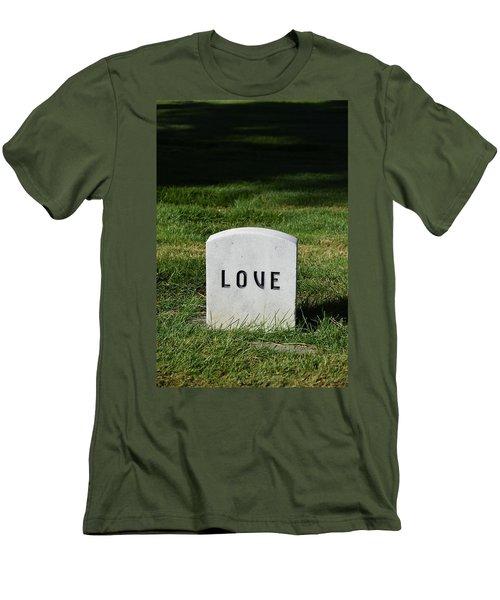 Love Monument Men's T-Shirt (Athletic Fit)