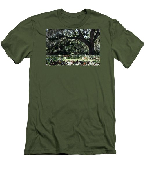 Men's T-Shirt (Slim Fit) featuring the photograph Low Country Series I by Suzanne Gaff