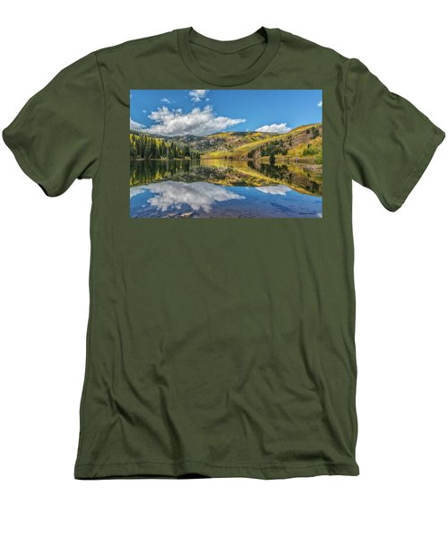 Lower Cataract Lake Aspen Men's T-Shirt (Athletic Fit)