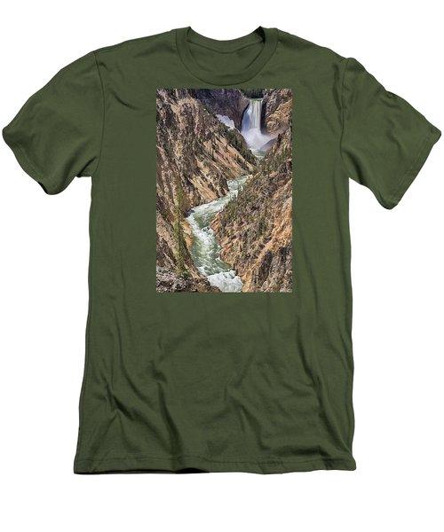 Lower Falls Men's T-Shirt (Slim Fit) by John Gilbert