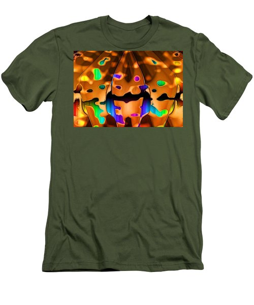 Men's T-Shirt (Slim Fit) featuring the digital art Luminence by Ron Bissett
