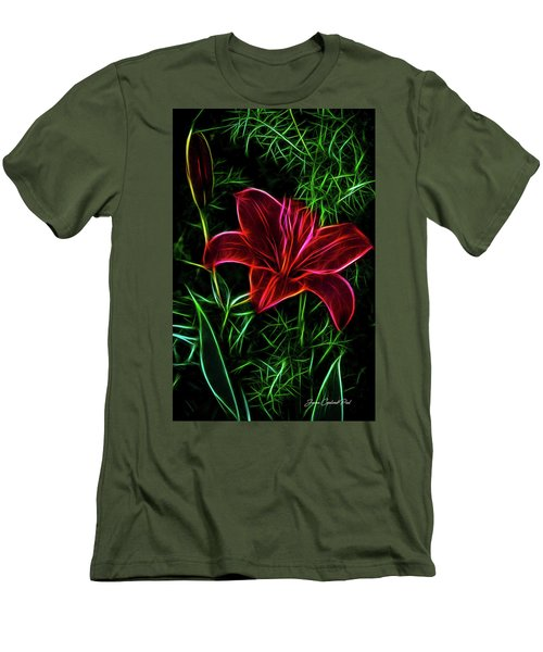 Luminous Lily Men's T-Shirt (Athletic Fit)