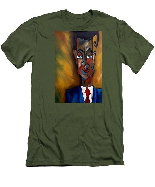 Lunatic Mentor Men's T-Shirt (Slim Fit) by Tom Fedro - Fidostudio