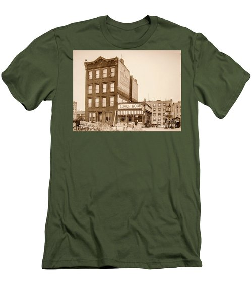 Men's T-Shirt (Athletic Fit) featuring the photograph Lunchroom  by Cole Thompson