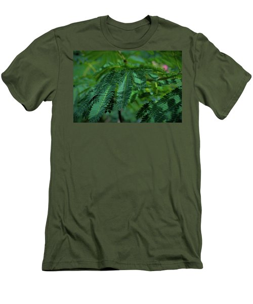 Lush Foliage Men's T-Shirt (Athletic Fit)