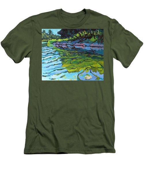 Lyndhurst Shoreline Men's T-Shirt (Athletic Fit)