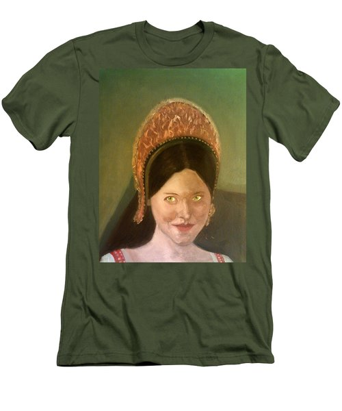 Lynne Frederick As Queen Katherine Howard Men's T-Shirt (Athletic Fit)