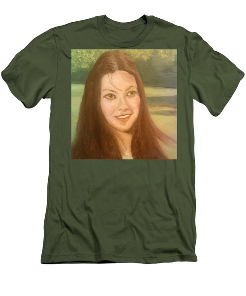 Lynne Frederick  Men's T-Shirt (Athletic Fit)