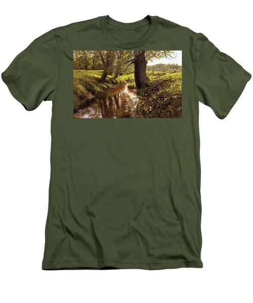 Lyon Valley Creek Men's T-Shirt (Athletic Fit)