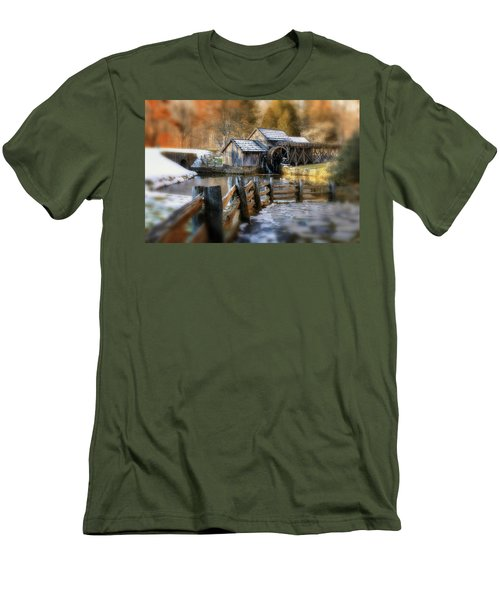 Mabry Mill Dream Men's T-Shirt (Athletic Fit)