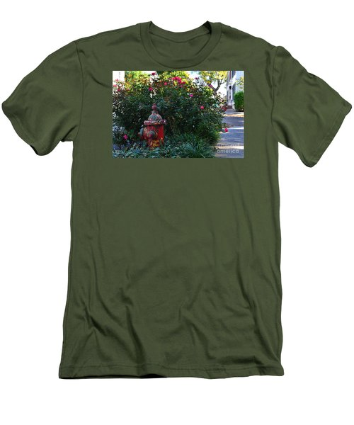 Madison Fire Hydrant Men's T-Shirt (Athletic Fit)