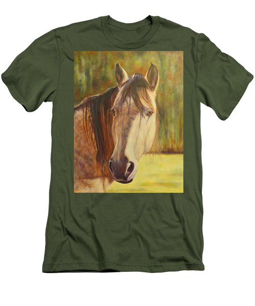 Maggie, Horse Portrait Men's T-Shirt (Athletic Fit)