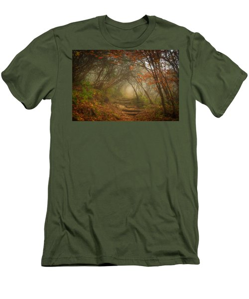 Men's T-Shirt (Athletic Fit) featuring the photograph Magic Forest by Joye Ardyn Durham