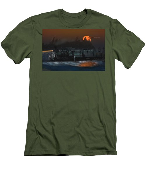 The Last Mile Before Home Men's T-Shirt (Slim Fit) by J Griff Griffin