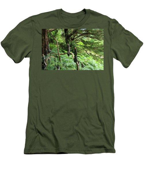 Magical Forest Men's T-Shirt (Slim Fit) by Aidan Moran